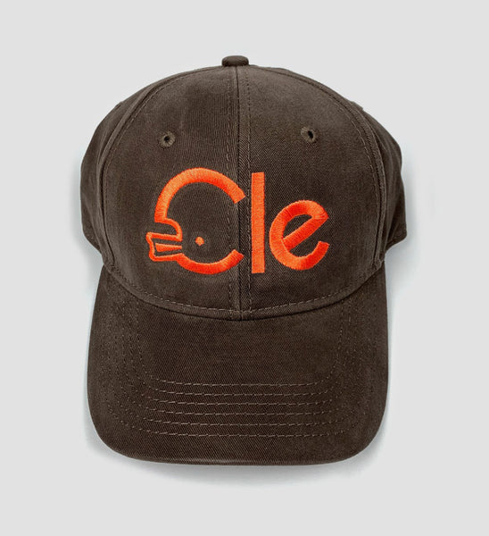 CLE Helmet Brown Dad Hat