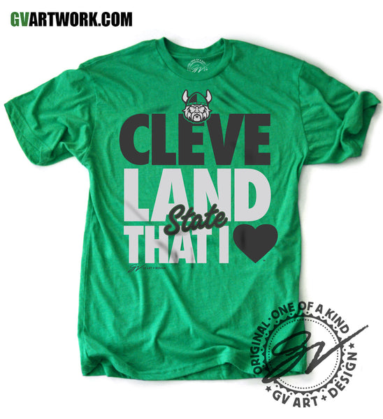 Cleveland That I Love CSU Limited Edition Green