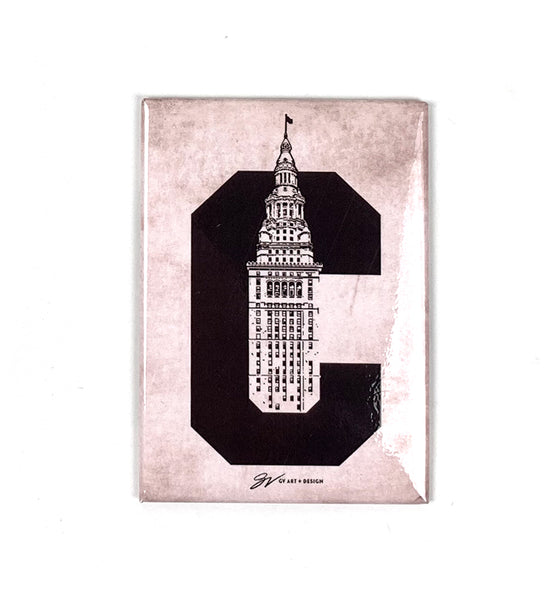 Terminal Tower C Magnet