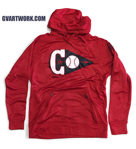 Cleveland C Arrowhead Athletic Hoodie