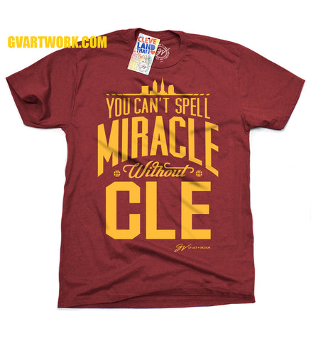 2016 MiraCLE shirt - World Champions