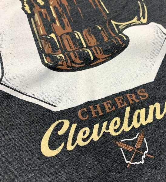 Cheers Cleveland Beer T shirt