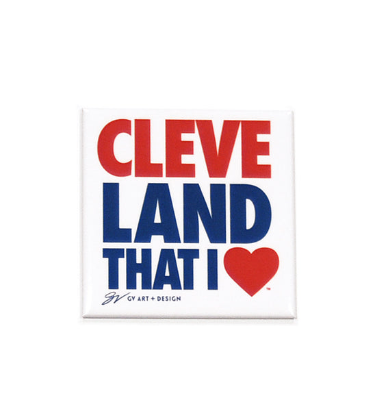 Original Cleveland That I Love Magnet