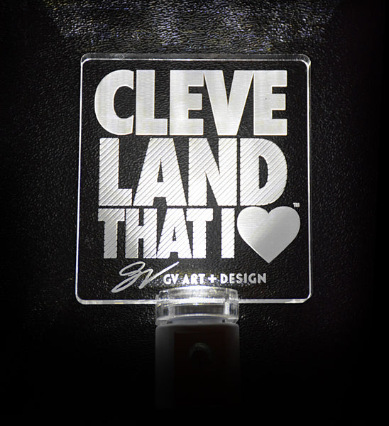 Cleveland That I Love Night Light