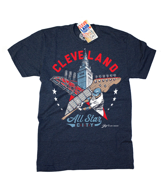 Cleveland All Star City T shirt