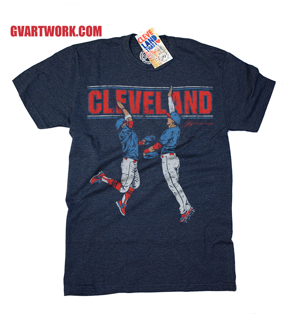 Cleveland Baseball High Five T shirt