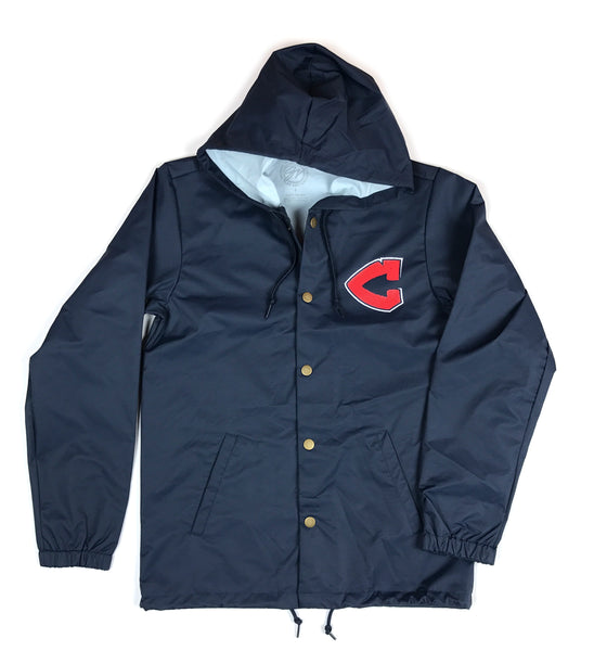Cleveland C Cross Feather Nylon Rain Jacket