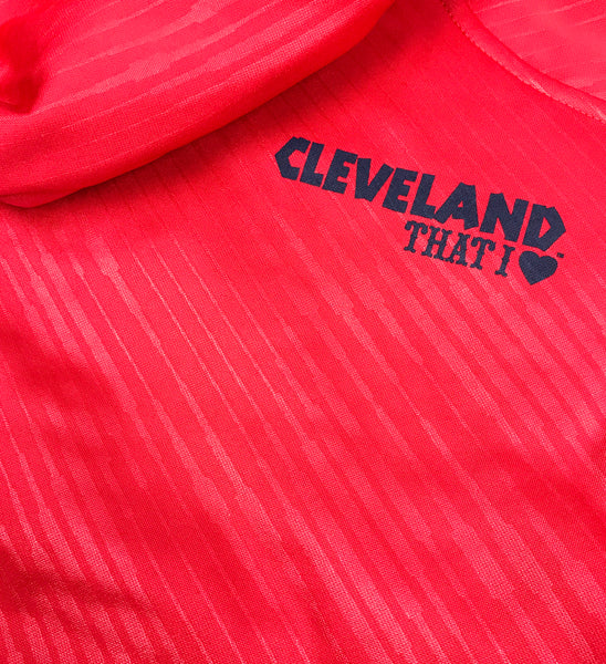 Cleveland Baseball Arrows Red Athletic Hoodie