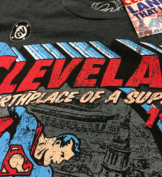 Special Edition Black Cleveland - Birthplace of a Superhero T shirt