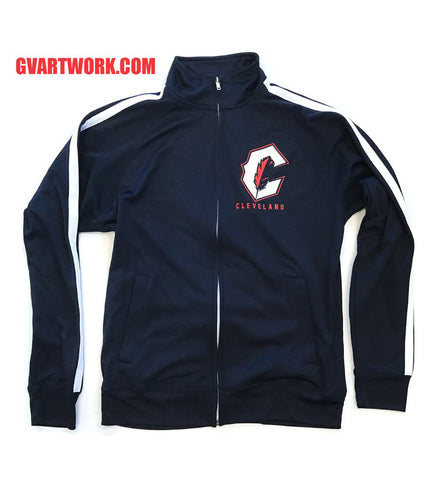 48ce12a5 Cleveland C Feather Striped Track Jacket | GV Art and Design