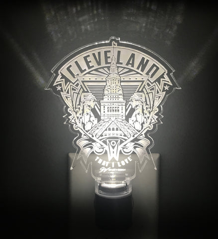 Cleveland Crest Nightlight