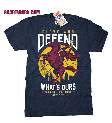 Cleveland Basketball Defend What's Ours T shirt