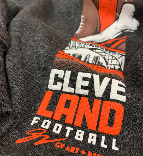 Cleveland Football Dark Grey Sweatpants