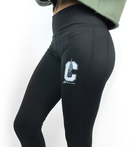 Cleveland That I Love Leggings - Black