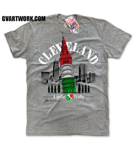 Cleveland's Leaning Tower Little Italy T shirt