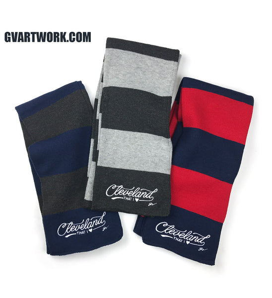 Cleveland That I Love Script Scarf