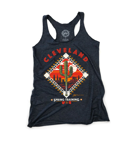 Cleveland Baseball Spring Training  Women's Tank