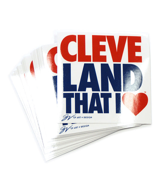 Original Cleveland That I Love Sticker