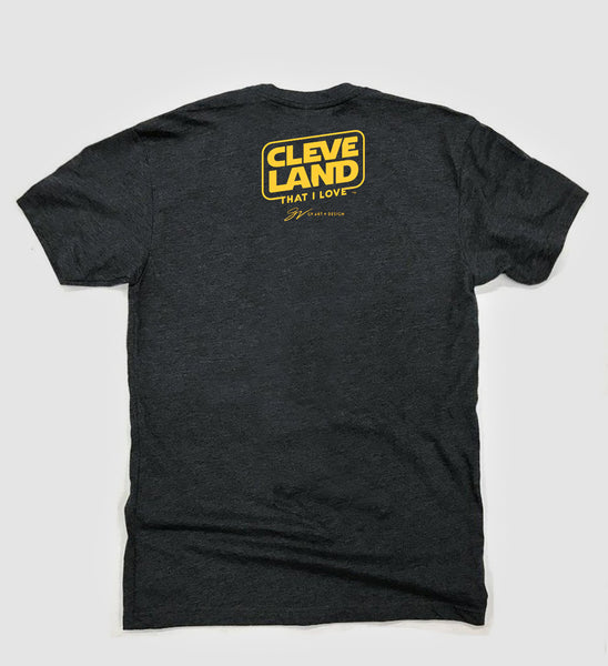 Cleveland Against The Galaxy T shirt