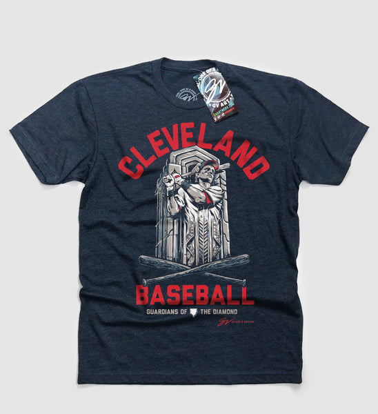 Cleveland Baseball Guardian T shirt
