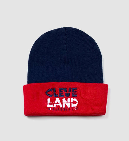 Cleveland Baseball Arrows Two Tone Winter Hat