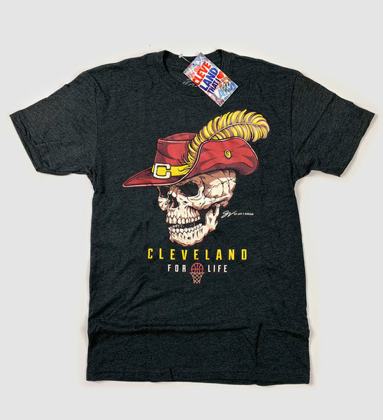 Cleveland For Life Basketball T shirt
