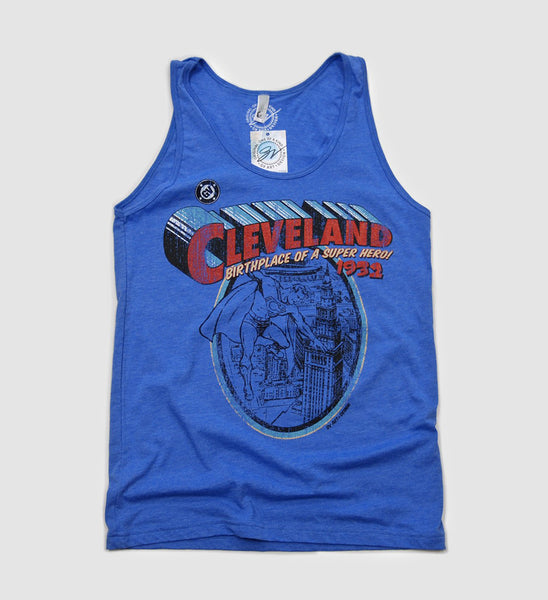 Cleveland - Birthplace of  Superhero Limited Edition Tank