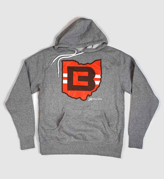 Cleveland Football CB Ohio Hooded Sweatshirt