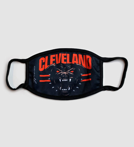 Cleveland Football Dawg Mask