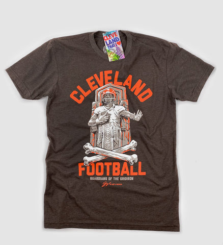 Cleveland Guardians of the Gridiron T shirt