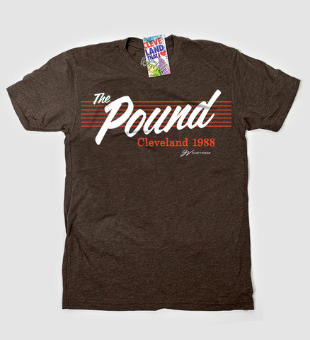 """The Pound"" Cleveland Football T shirt"