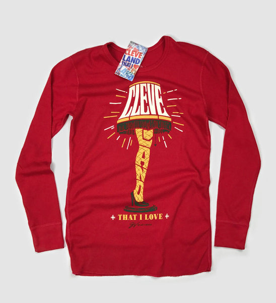 Cleveland That I Love Leg Lamp Long Sleeve Thermal