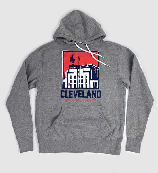 Cleveland Municipal Stadium Hooded Sweatshirt