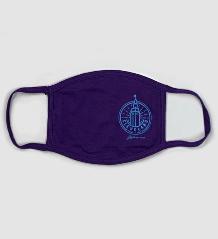Cleveland Terminal Circle Mask - Purple