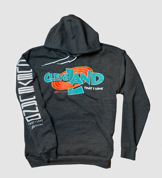 Cleveland Space Land Hooded Sweatshirt