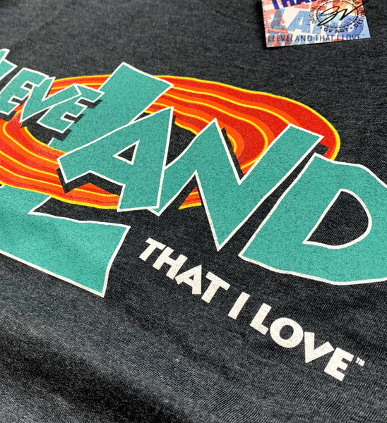 Kids Cleveland Space Land T Shirt