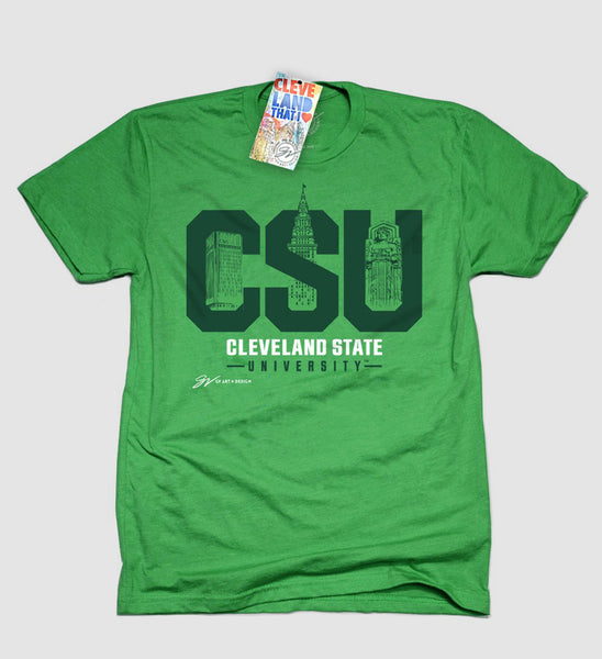 CSU City T shirt - Green