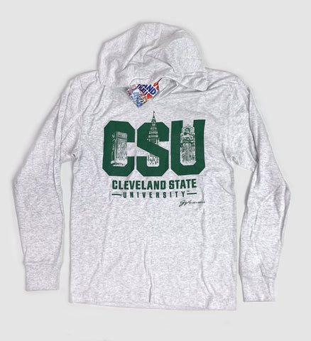 CSU City Long Sleeve Hooded T shirt