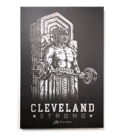 Cleveland Strong Guardian Canvas Artwork