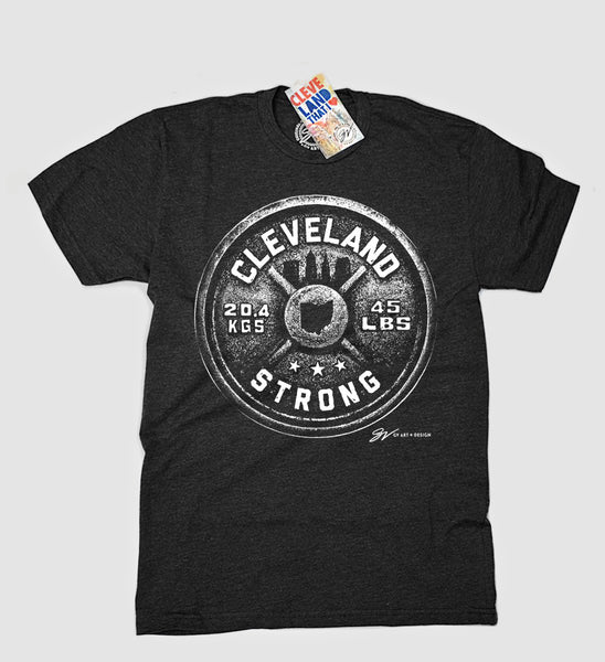 Cleveland Strong Weight T shirt