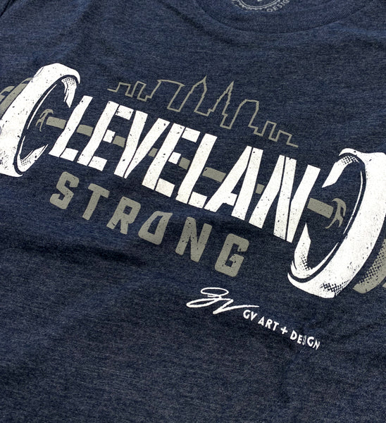 Cleveland Strong Barbell T shirt