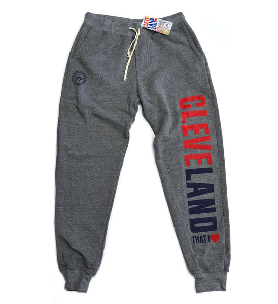 Cleveland That I Love Grey Sweatpants