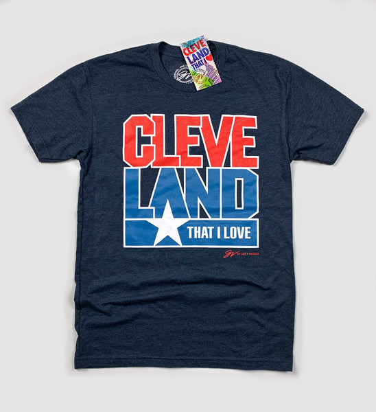 Cleveland That I Love Team USA T Shirt
