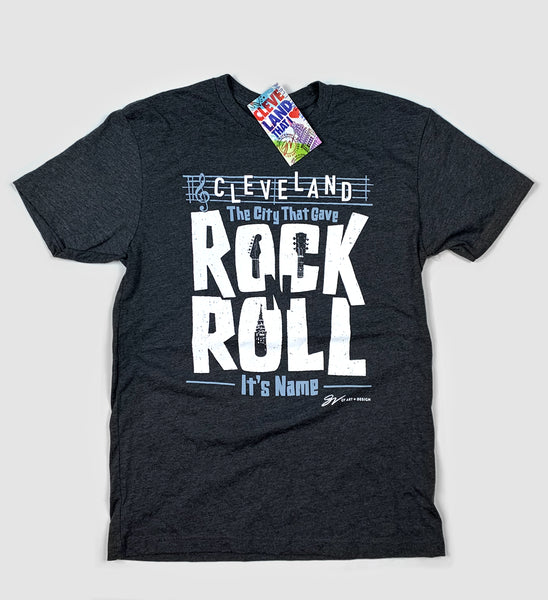 Cleveland, The City That Gave Rock N Roll It's Name T shirt