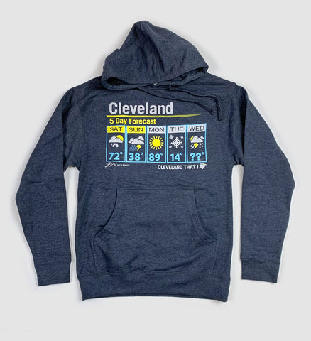 Cleveland Weather Hooded Sweatshirt
