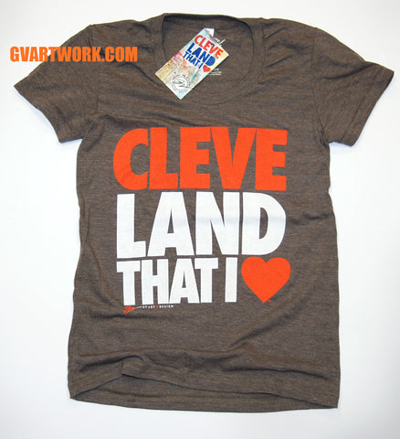 Cleveland That I Love - Womens Coffee T shirt