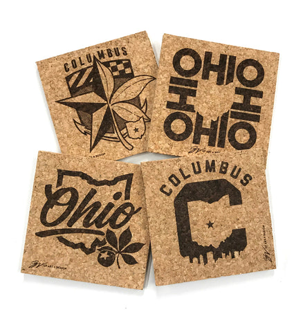 Columbus Ohio Coasters (4 Pack)