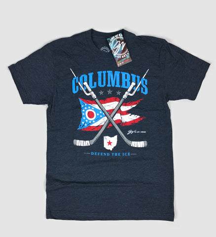 Defend The Ice Columbus Hockey T shirt