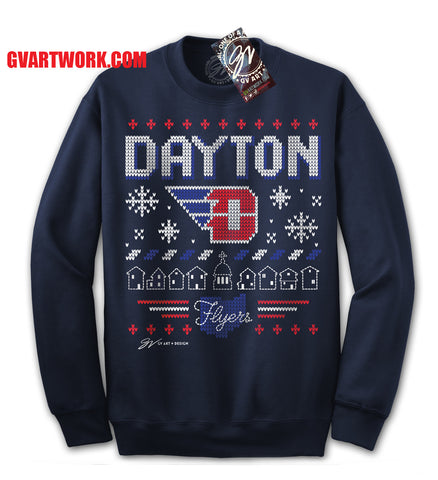 Dayton Flyers - The not so Ugly, Ugly Sweater