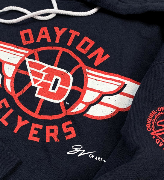 Dayton Flyers Wings Hooded Sweatshirt